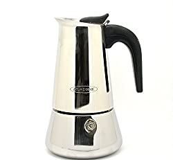 GESTIONE Atlasware Coffee Percolator(or) Indain coffee,� Maker 4 Cups - (Stainless Steel)