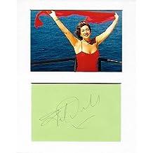La crociera–Jane Mcdonald Genuine Authentic Hand autografata Aftal certificato di autenticità