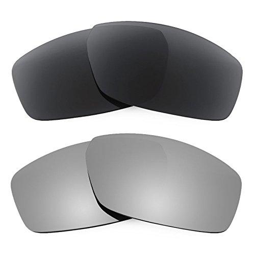 Revant Ersatzlinsen für Spy Optic Dirty Mo Polarisiert 2 Paar Kombipack K001