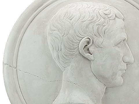 César reliefporträt/caesar en semi-relief du souverain rOM ´ s kleopatras et les (Cancelleria Registrato)