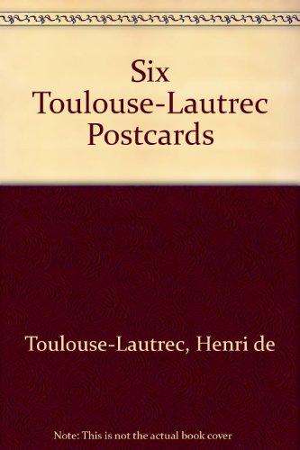 Six Toulouse-Lautrec Postcards