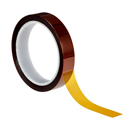 Preisvergleich Produktbild 3M 70016054689 5413 Hochtemperatur Klebeband,  Polyimid,  15.9 mm x 33 m (2-er Pack)