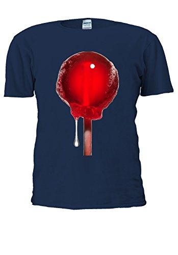 NisabellaLTD -  T-shirt - Maniche corte  - Uomo .Navy XXXXX-Large