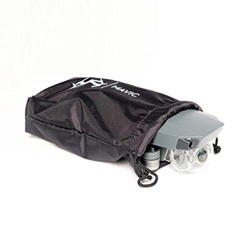 Preisvergleich Produktbild Fulltime® Soft PU wasserdichte Tragetasche Hülsenlager Tragbare Reise Schutzhülle Tasche für DJI Mavic Pro Drone, Schwarz
