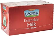 Lacnor Milk Full Cream, 1 Litre, Pack of 12