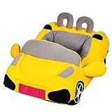 UEETEK Cool sport a forma di macchina Bed cane casa piccola gatto casa caldo morbido cucciolo divano cuccia