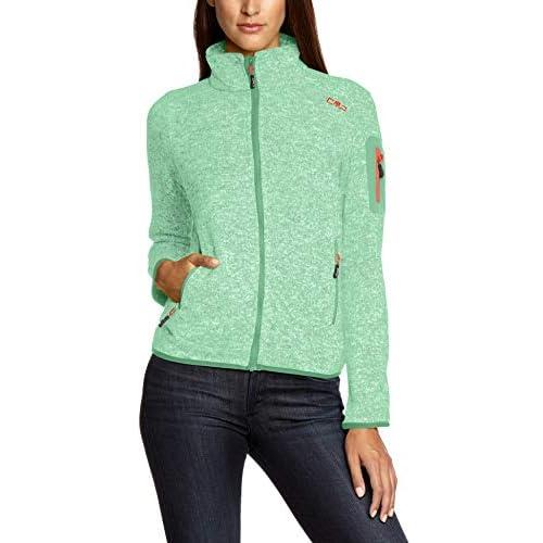 41zN4eZ9HhL. SS500  - CMP Women's Cmp Women's Strickfleece Jacket Jacket