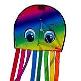 CIM Cerf-Volant Pieuvre - Draki XL Rainbow - pour Enfants à partir de 3 Ans -...