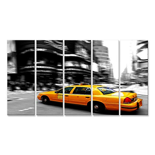 113/Coton Couvre-lit Taie doreiller carr/ée Coussin en 45*45/cm Henryoutletshop Coussin New York Taxi Y
