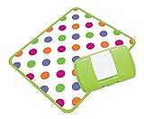 Koo-di Essential Wickelbox, mit Unterlage, Grün mit Punkten