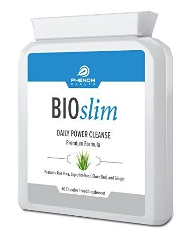 BIOSLIM DAILY POWER CLEANSE – DETOX & CLEANSE BODY 1 MONTH SUPPLY
