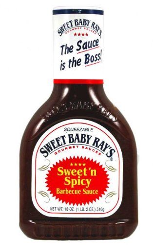 Sweet Baby Ray's Sweet 'n Spicy BBQ Sauce 18oz (510g)