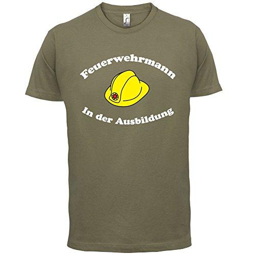Feuerwehrmann in der Ausbildung - Herren T-Shirt - 13 Farben Khaki