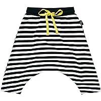 juqilu Pantalón Infantil recién Nacido Baby Boy Girls Clothing Botón de Mameluco a Rayas Lindo Regalo de cumpleaños Ropa de algodón Suave para 1-5 años de Edad