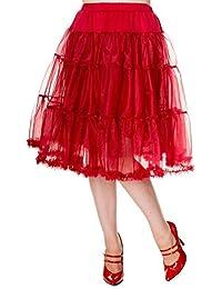 Banned TUTU Petticoat 203 SWING LONG burgundy