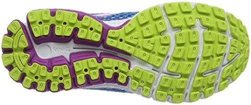 Brooks Aduro 4, Chaussures de Running Compétition Femme, 38 EU Mehrfarbig (blau/violett)