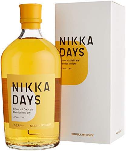 NIKKA DAYS - smooth and delicated Blended Whisky (1 x 0.7 l)