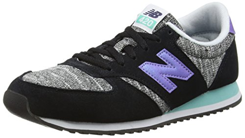 New Balance WL420KIC-420, Zapatillas de Running para Mujer, Multicolor (Black/Poolside 913), 37 EU