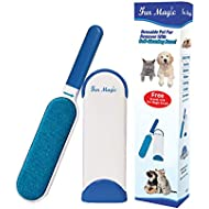 Fur Magic Pet Fur and Lint Remover Brush With Self-Cleaning Base, Double-sided Fur Brush for Dog and Cat UPDATED VERSION