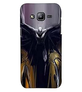ColourCraft Superhero Design Back Case Cover for SAMSUNG GALAXY J2 J200G