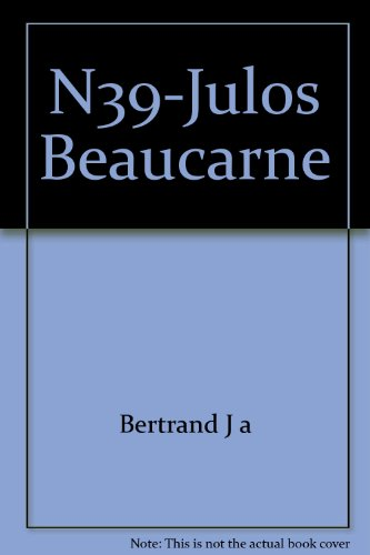 Julos Beaucarne par Bertrand Jacques, Helene Nosten
