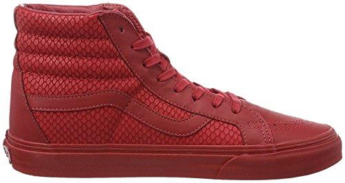 Vans Unisex-Erwachsene Sk8-Hi Reissue Hightop Sneaker Dunkelrot