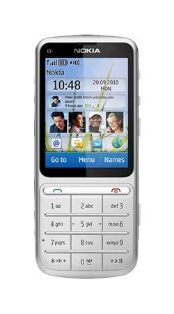 Nokia C3–01Touch and Type/5MP/Touchscreen Handy auf Vodafone Prepaid Zahlen Sie