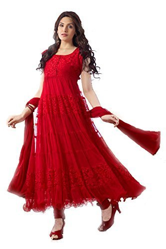 Globalia Creation Women\'s Cotton Salwar Suit Set (Gol-02Qq2Aa_Dark_Free Size)
