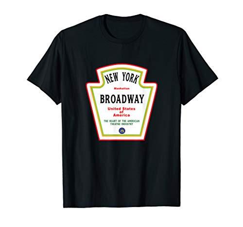 New York City BROADWAY Musical NYC UNITED STATES USA T-Shirt
