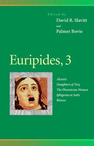 Euripides, 2: Hippolytus, Suppliant Women, Helen, Electra, Cyclops: Hippolytus, Suppliant Women, Helen, Electra, Cyclops v. 2 (Penn Greek Drama Series) by Euripides (1997-01-01)