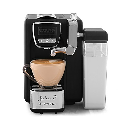 Bonhomia Brewski BB02IG Single serve cappuccino espresso capsule coffee brewer...