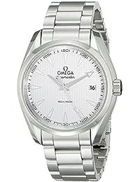Omega eysse-reloj analógico de cuarzo de acero inoxidable 23110396002001