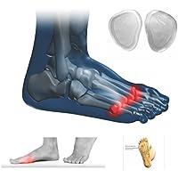 Einlegesohle Silikon Gel für Ball von Fuß oder Metatarsal Kissen Pad zu Relief Schmerzen und Schocks preisvergleich bei billige-tabletten.eu
