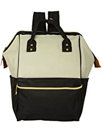 Backpack Handbag For School, Office, Travel Bag, Laptop Unisex Bag (Black & White) By Shoppertize