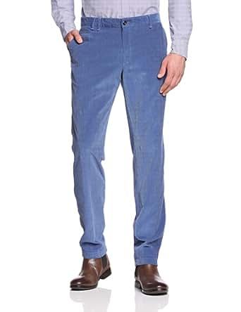 Tommy Hilfiger Tailored Herren Hose William-W PNTSLD13305, Gr. 46, Blau (014)