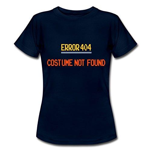 Geek Mädchen Für Kostüme Halloween (Error 404 Costume Not Found Frauen T-Shirt von Spreadshirt®, XXL,)