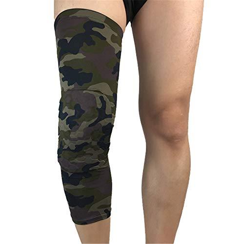 WXQQ Sportivo GinocchieraGinocchiere Supporto Compressione per Running, Jogging, Sport, Joint Sollievo dal Dolore, Artrite e Lesioni Recupero Design AntiscivoloCamouflage1