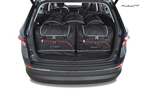 Kjust Carbags MASSGESCHENIDERTE Auto-Taschen FÃœR Skoda KODIAQ, 2017-
