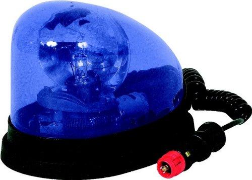 Gyrophare bleu goutte d'eau 12 volts 55 watts