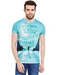 Wear Your Mind Multicolour Polyester Printed Tshirt For Men CST025.2
