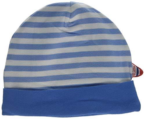 Chicco Baby - Jungen Cappellino Cuffia Baskenmütze, Türkis (Bianco E Azzurro 032), Neugeboren (Herstellergröße: 036)