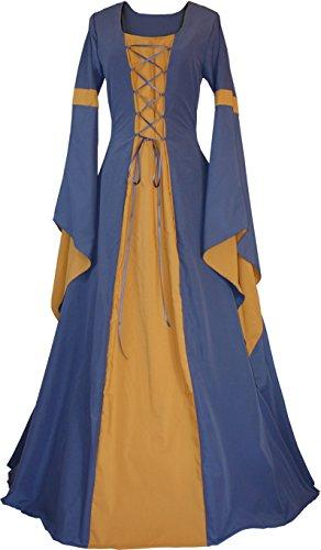 elalter Kleid Johanna Indigo (36/38, Indigo-Safran) ()