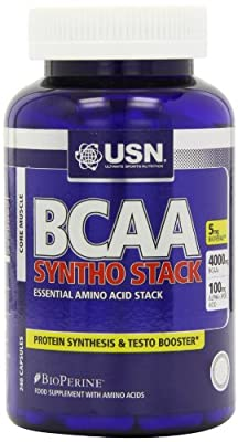 USN BCAA Syntho Stack Essential Amino Acid Stack Capsules - Tub of 240 from USN