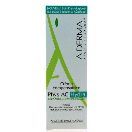 Aderma Phys-Ac Hydra Crema Viso Crema Idratante Compensatrice 40 ml