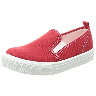Asahi Toddler Slip On Sneaker Pure Color Red Size: 11 M US Little Kid