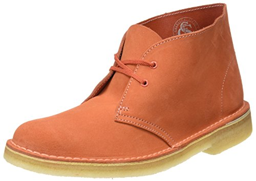 Clarks Originals Damen Boot-261227404 Desert Boots, Orange (Light Coral), 41 EU