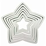 PME Star Cutters, Set of 6