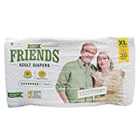 Friends Easy Adult Diapers, X-Large, Count 30