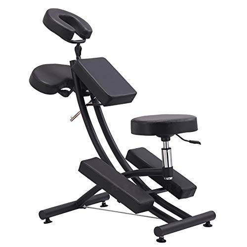 HSRG Tragbare Tattoo Spa Massage Stuhl Light Weight Rolling Case Chair