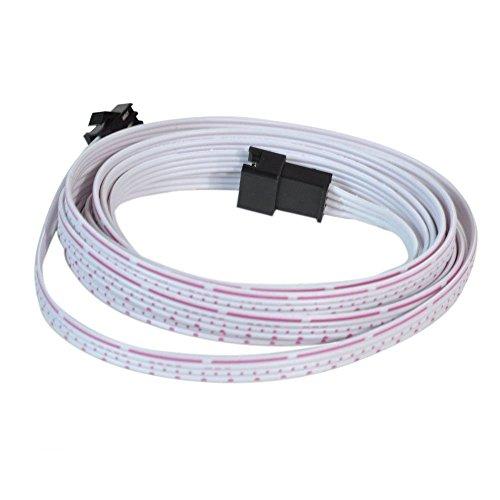 ZYTC Verlängerungskabel Kabel für LED unter Auto Glow Unterboden Neon Lichter Kit 10 Fuß 3M Undercar-kits